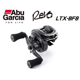 ◎百有釣具◎瑞典Abu Garcia Revo 小烏龜捲線器  LTX-BF8(右手捲)/ LTX-BF8-L(左手捲) 新世代的微拋龜 史上最輕量的129g