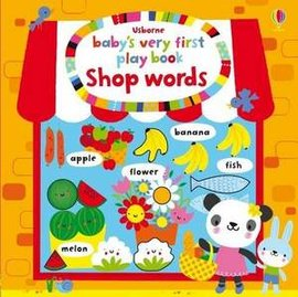 lt Babys very first play book gt  SHOP WORDS