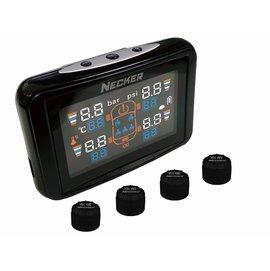 3990 4折 NECKER TPC 胎外式 LCD彩屏版胎壓偵測器 超輕羽量級5.3g