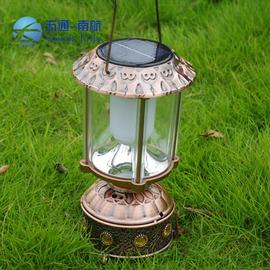 新品特供太陽能復古馬燈 手提燈 復古燈 野營燈 帳篷燈 充電 戶外