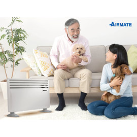 AIRMATE 艾美特 居浴兩用對流式電暖器 HC51337G ★24期0利率  通過經濟部標檢局IPX4防潑水測試