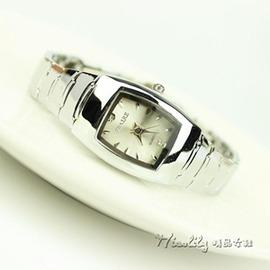 方形情侶手錶一對鑲鑽防水鋼帶錶手錶女簡約 錶女式石英錶