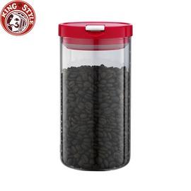 金時代書香咖啡 Tiamo 玻璃儲豆罐 95~175mm 1000ml