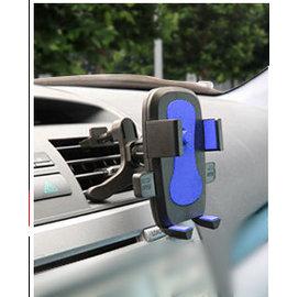 新竹市 iphone htc samsung 手機通用支架/汽車用導航GPS支架/飲料車架 **空調出風口**