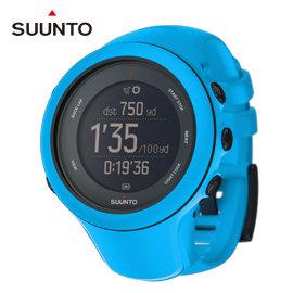 【平行輸入台灣現貨供應】芬蘭 SUUNTO Ambit3 Sport GPS運動腕錶【附心跳帶】跑步•三鐵-藍