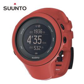【平行輸入台灣現貨供應】芬蘭 SUUNTO Ambit3 Sport GPS運動腕錶【附心跳帶】跑步•三鐵- 珊瑚紅