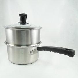 ~家樂 ~妙廚師不鏽鋼蒸煮鍋蒸籠湯鍋18cm美食鍋
