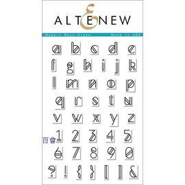 Altenew Modern Deco Alpha 透明印章