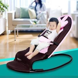 哄睡椅子寶寶嬰兒搖搖椅哄寶新生兒安撫躺椅輕便折疊平衡自動兒童搖籃igo