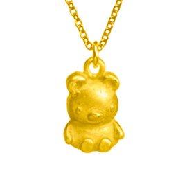 Dogeared bear 金色小熊項鍊 你最寶貝