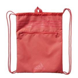 ADIDAS   37 cm x 47 cm 運動束口袋-淺紅 AY5902
