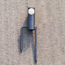 大號戶外遮陽傘太陽傘廣告傘定制沙灘傘擺攤傘地插底座 傘座叉子