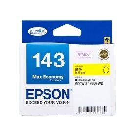 EPSON NO.143 高印量XL 黃色墨水匣^(T143450^)