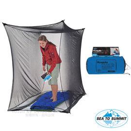【澳洲 Sea To Summit】新款 Mosquito Box Net Single Shelter 單人防蚊方形帳.輕量化帳篷.行軍床帳棚.露營.登山/黑 STSAMOSBNS 黑