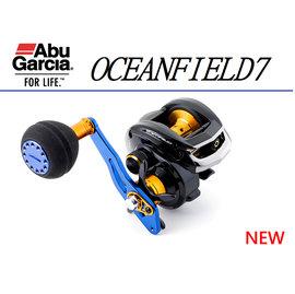 ◎百有釣具◎Abu Garcia OCEANFIELD7(右手)/OCEANFIELD7-L(左手) 梭型捲線器 小烏龜 雙手把 近海對應強力小捲低自重