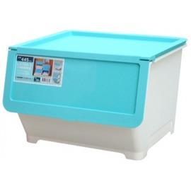 【好市吉居家生活】嚴選聯府KEYWAY~ LV700-1 (大)前開式整理箱(藍) 置物 收納