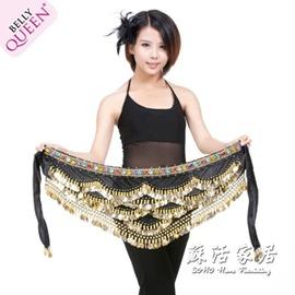 彩鑽肚皮舞腰鍊 印度舞演出服裝腰帶 單件