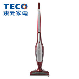 TECO 東元 EasyClean電動地刷2in1無線直立手持兩用吸塵器 (寶石紅) XJ1801CBR