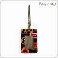 雨朵小舖防水包包C02~527 直立式證件套~黑徽章Q士兵巴14082 funbaobao