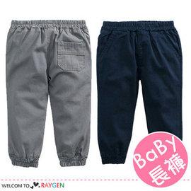 男女童個性簡約口袋造型縮口褲 中長褲【HH婦幼館】