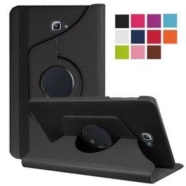 預購+現貨 Samsung Galaxy Tab E 8.0 (T3777)平板可立掀蓋旋轉書本皮套   送MICRO防塵塞一套