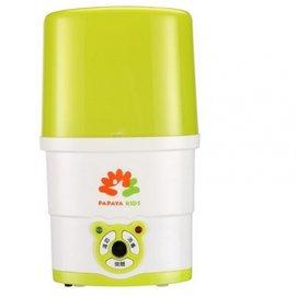 【紫貝殼】『GCH22-7』【 Papaya Kids 馬克文生 】  二合一 溫奶 蒸氣 消毒鍋 MVS160002