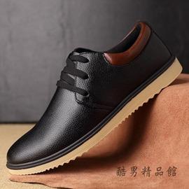 2016 春秋男士休閒皮鞋真皮商務男鞋潮鞋英倫風防滑單鞋子