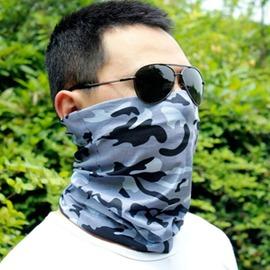戶外騎行頭巾護耳男女迷彩防曬釣魚面罩速干圍脖口罩護腕面巾