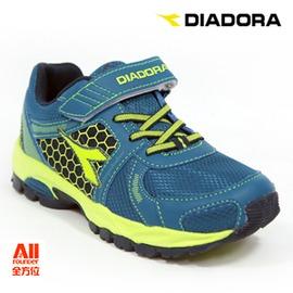 ~Diadora 迪亞多那~~全方位 戶外館~抗水越野慢跑鞋 童鞋 ~湖水藍^(D3666
