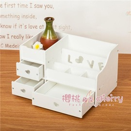 桌面化妝品收納盒置物架大號浴室防水抽屜式收納架梳妝臺整理盒