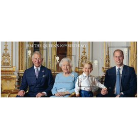 2016 90th Birthday of HM Queen Elizabeth II 女