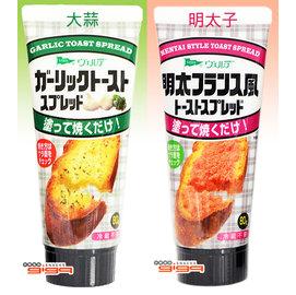 【吉嘉食品】Aohata大蒜抹醬/明太子風味抹醬(QP抹醬) 1瓶80公克130元