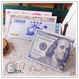 【Q禮品】A3075 鈔票造型皮夾/假鈔皮夾/短夾/鈔票錢包/文創/美金/日幣/防水/趣味搞怪/交換禮物/紅包袋