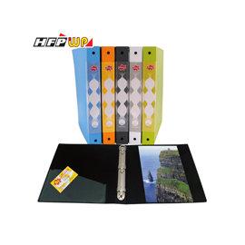 5折^~10個量販^~ HFPWP 1吋發泡板三孔夾 環保  製 FOF530AB~1~1