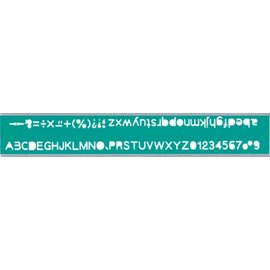 ~1768 網~英文數字定規 TP~725A  157253  255 X 48 X 0.