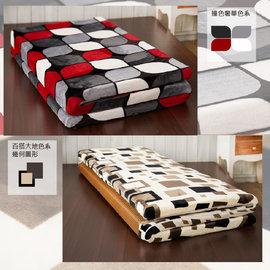 ~H  F居家 館~BE010 暖暖床墊 溫暖精細法蘭絨雪毯四季單人床墊