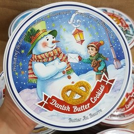 ^(丹麥^) 聖誕節 丹麥皇后奶酥餅 奶油味^(Butter Cookies^) 1盒15
