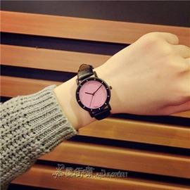 潮流女錶小清新簡約 中性學生皮帶復古閨蜜原宿風星空手錶