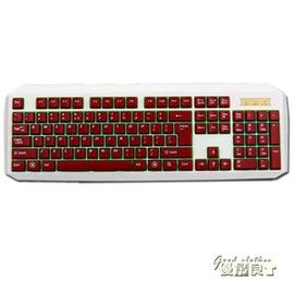 鍵盤~KB320背光鍵盤發光夜光競技有線游戲鍵盤USB臺式電腦鍵盤igo