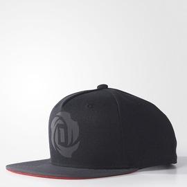 ADIDAS  D ROSE 5 CAP 棒球帽-黑 AY6199