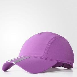 ADIDAS  基本款 運動帽-紫/銀 AX8796