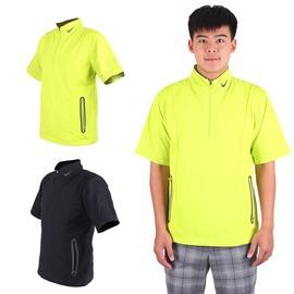 NIKE GOLF男抗水防風系列短袖外套(免運 風衣外套 立領【03330651】≡排汗專家≡