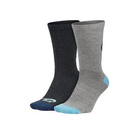 NIKE 女2包裝中筒襪 (長襪 襪子 慢跑 路跑【98410587】≡排汗專家≡