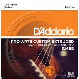 D Addario EJ65B 烏克麗麗弦^(28~35^) 上低音 Baritone~D