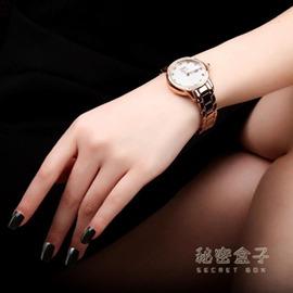 維加斯 潮流女士手錶女鋼帶防水石英錶女學生 igo
