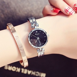 秀氣小巧精致女學生手鍊手錶鋼帶時裝手鐲石英錶腕錶 玩咖3C