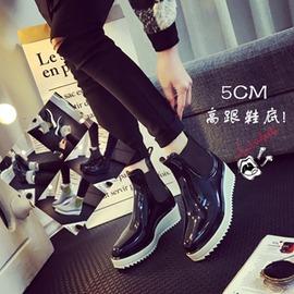 韓國雨鞋女夏 春秋防水馬丁高跟雨靴 短筒水靴 防滑水鞋女 衣櫥秘密