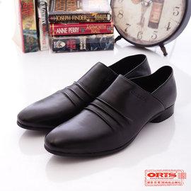 ORIS 真皮 鞋 ~ 義式 紳士皮鞋 ^(男^) ^~ 黑 SA16505N01