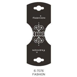 ~1768 網~雙凹吊卡 燙銀 FASHION ^(500張 包^) ^(6~7076^)