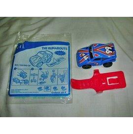 aaL皮商.^(企業寶寶玩偶娃娃^) 附 袋2008年麥當勞發行霹靂小賽車越野賽車組~橫行
